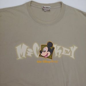 Mens Disney Short Sleeve Tee Mickey Mouse Size XL